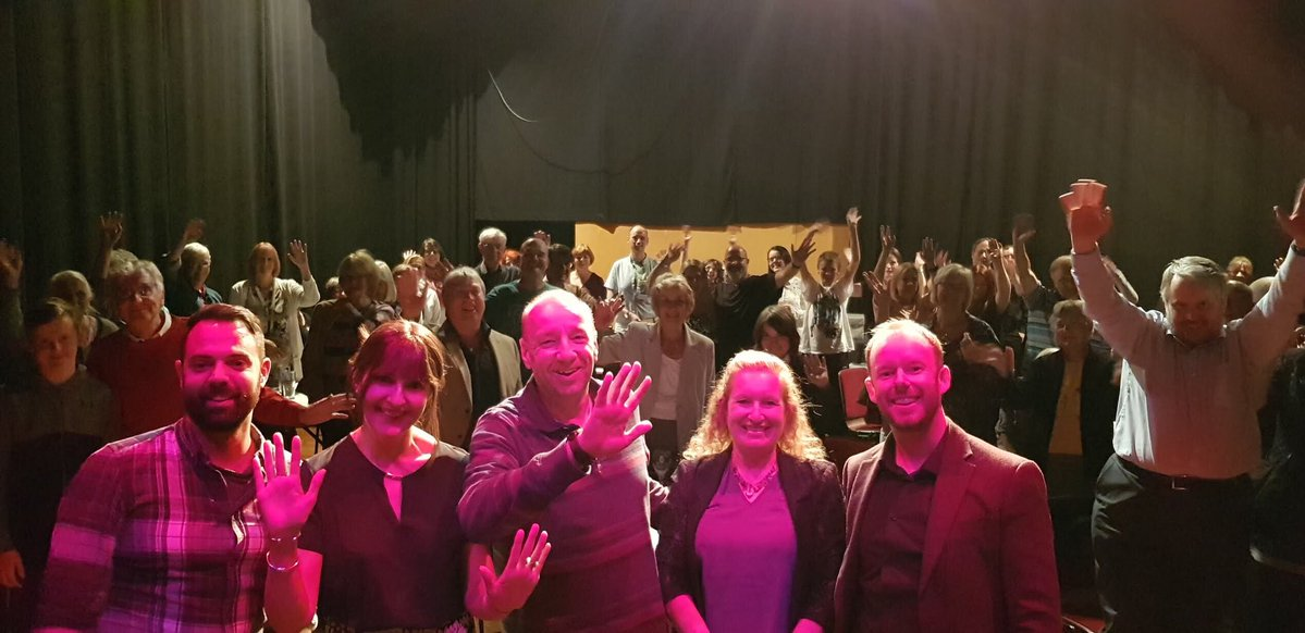 image showing With the audience, Corby Core author event 2018