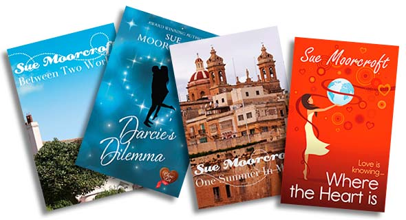 Novellas & Serials: Sue's shorter works, novellas and serials are listed here.