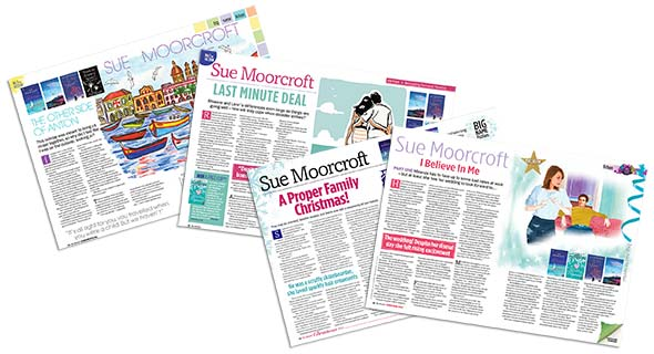 Other Writing: As well as her novels, novellas and serials, Sue Moorcroft has written widely on subjects of fiction and non-fiction.  This is a selection of her articles and non-fiction publications.