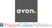 Logo of Sue's publisher, Avon Harper Collins.